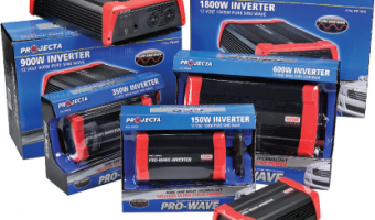 Projecta releases affordable Pro-Wave range of pure sine inverters
