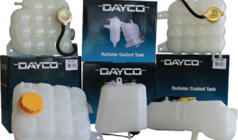 Dayco's quality choice for engine cooling components