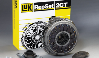 The LuK RepSet 2CT repair solution for dry double clutches now available