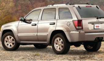 Pedders chassis parts to suit Jeep and Chrysler