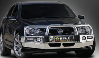 ECB frontal protection for Holden Commodore