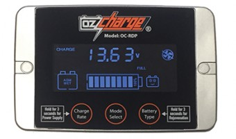 SMART NINE-STAGE BATTERY CHARGER AND MAINTAINER