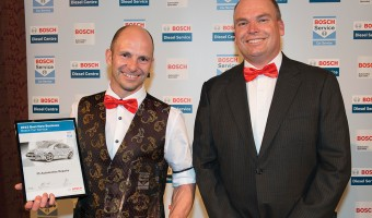 AWARDS PRESENTED TO THE BOSCH SERVICE NETWORK'S HIGHEST ACHIEVERS