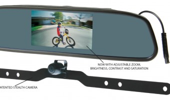 COOLDRIVE PLAYS IT SAFE WITH NEW REAR VIEW MIRROR AND REVERSING CAMERA