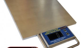 NEW TOWSAFE CARAVAN WEIGHT CONTROL SCALES
