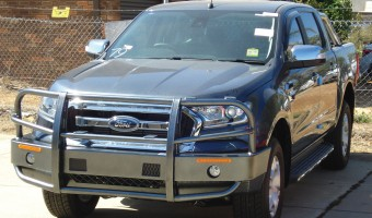 BULLBAR FOR THE FORD RANGER PXII