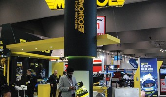 MONROE BECOMES MAJOR SPONSOR OF THE AAA EXPO FOR THE FOURTH TIME