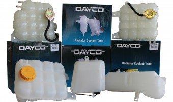 DAYCO COOLANT EXPANSION AND OVERFLOW TANKS