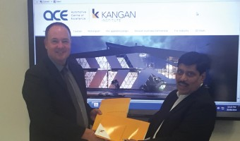 KANGAN INSTITUTE PARTNERS  WITH INDIAN GOVERNMENT