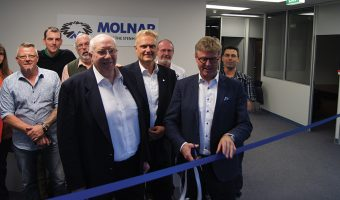 MOLNAR OPENING A NEW OFFICE AND WAREHOUSE