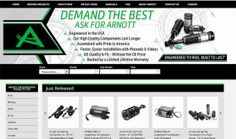 NEW ARNOTT WEBSITE