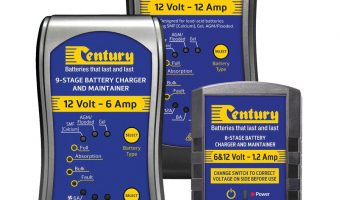 EXPANDED RANGE FROM CENTURY BATTERIES