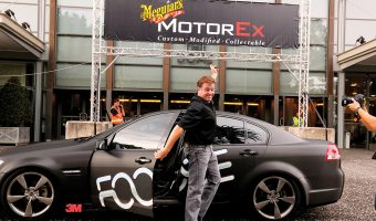 3M BRINGS CHIP FOOSE TO MEGUIAR'S MOTOREX