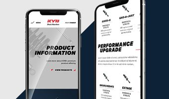 NEW WEBSITE LAUNCHED FOR KYB