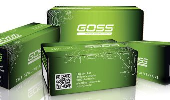 GOSS LAUNCHES NEW LOOK, EXTENDED RANGE AND SERVICE PROMISE