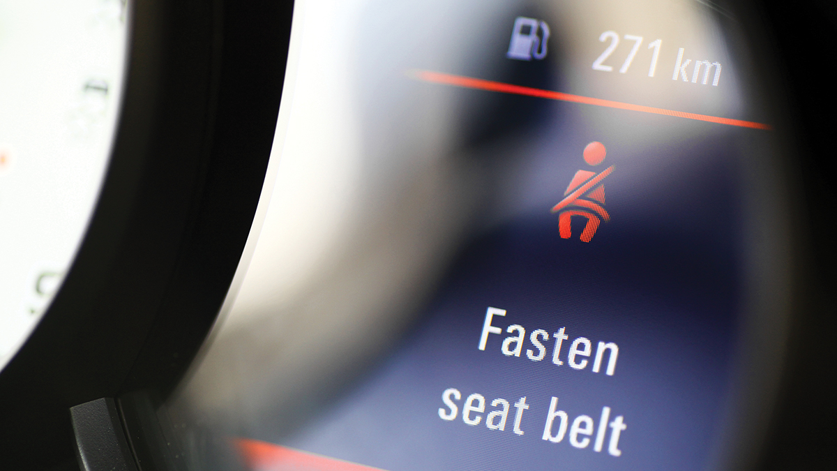 ARE YOUR SEAT BELTS SAFE?