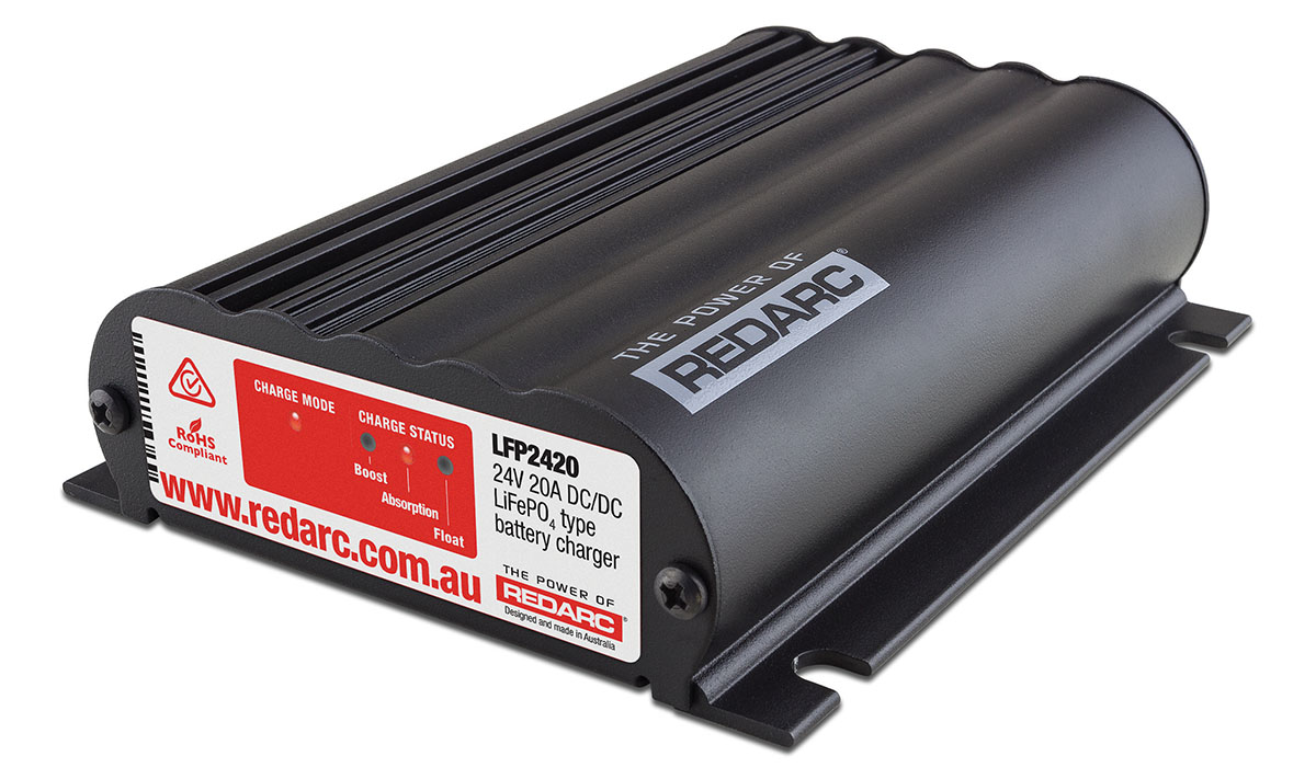 NEW LITHIUM IN-VEHICLE BATTERY CHARGERS