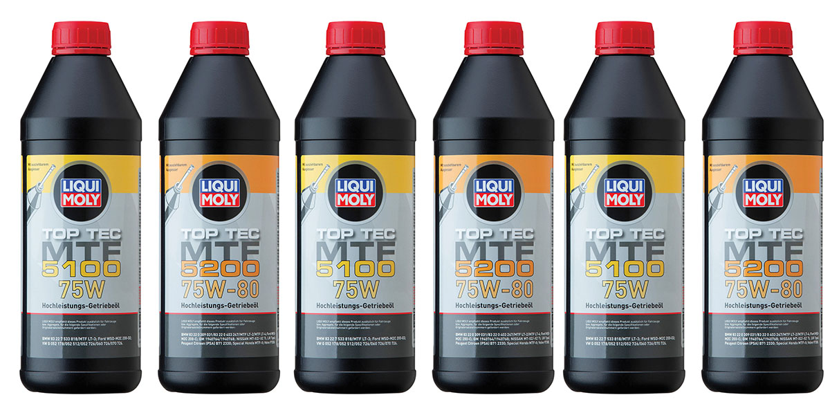 NEW LIQUI MOLY GEARBOX OILS