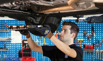 HOW TO PERFORM AN OIL CHANGE…