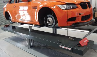 LIFTING THE LEVEL FOR RACE CARS