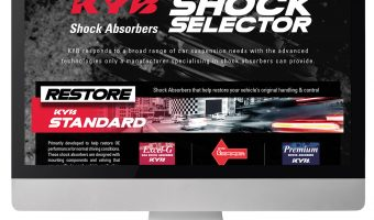 KYB LAUNCHES INNOVATIVE  SHOCK SELECTOR