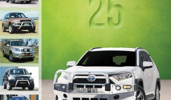 CELEBRATING 25 YEARS OF RAV4