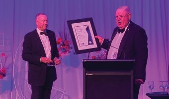 HALL OF FAME HONOUR FOR RON PEDDER