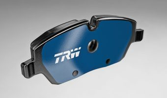TRW ELECTRIC BLUE BRAKE PAD AWARDED INNOVATION PRIZE