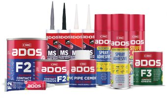 CRC LAUNCHES NEW ADHESIVES RANGE