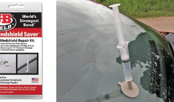 JB WELD'S WINDSHIELD SAVER