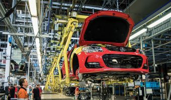SUPPORTING CAR MANUFACTURING TRANSITION