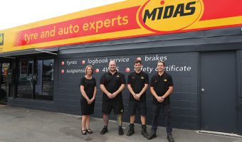 INAUGURAL MIDAS TYRE AND AUTO STORE OPENS