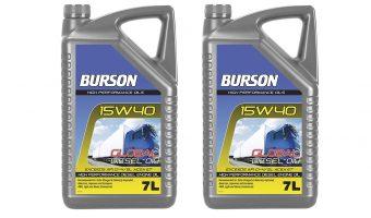 BURSON AUTO PARTS INTRODUCES SEVEN LITRE ENGINE OILS