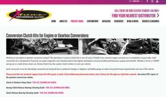 XTREME CLUTCH RELEASES CONVERSION KIT CATALOGUE