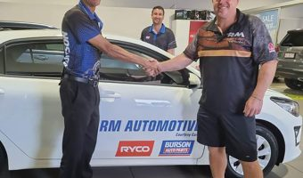 BURSON AUTO PARTS AND RYCO FILTERS GIVE AWAY FIVE CARS
